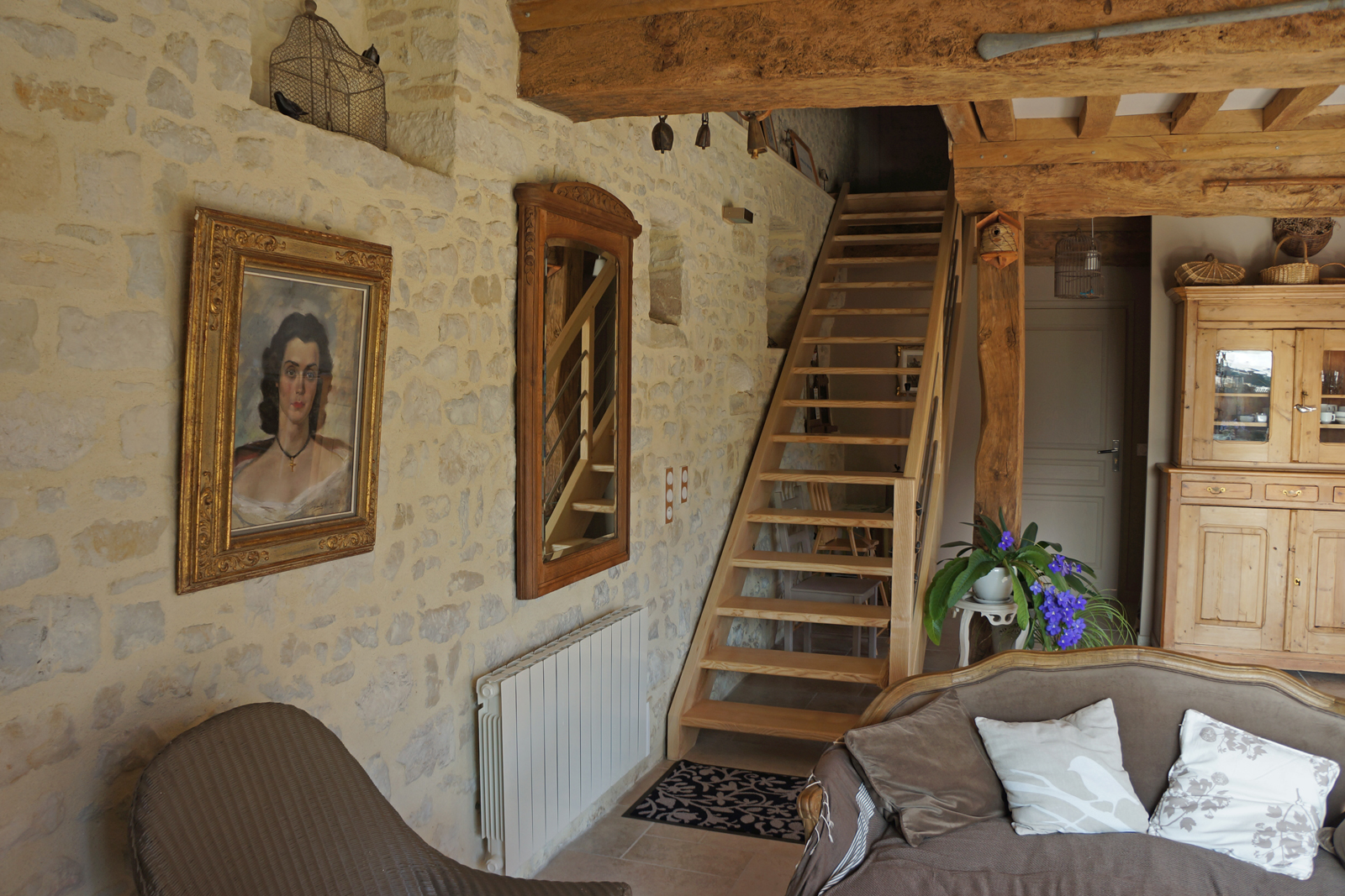 Escalier Dans Maison Ancienne guest house bed and breakfast in normandy