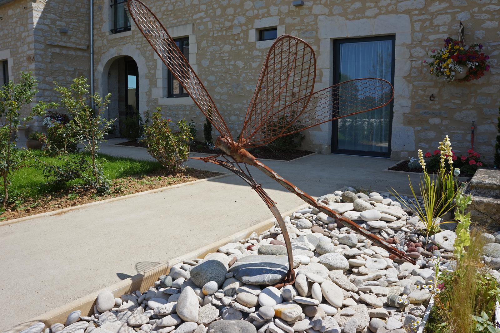 sculpture Maison hotes Les oiseaux de passage