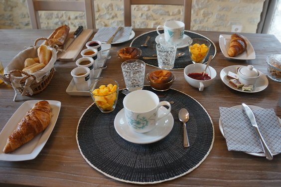 gourmet breakfast in isigny sur mer in normandy. Black Bedroom Furniture Sets. Home Design Ideas
